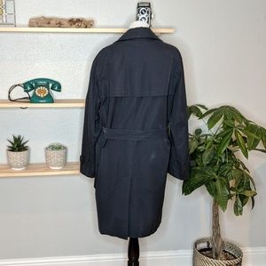 Burberry Jackets & Coats - Mens Navy Burberry Trench Coat -flaws